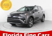 Used Cars Florida Lovely Used 2017 toyota Rav4 Xle Suv for Sale In Miami Fl