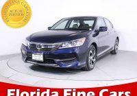 Used Cars for Sale Near Me Honda Accord Luxury Used 2016 Honda Accord Lx Sedan for Sale In Margate Fl