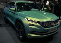 Used Cars In Canada Lovely Czech This Out Six Seat Skoda Vision S Concept Unveiled by Car