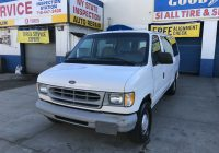 Used Cars Staten island Luxury Used 1999 ford E 150 Econoline Xl Wagon $4 590 00