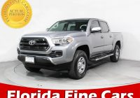 Used Cars Tacoma Elegant Used 2016 toyota Ta A Crew Cab Sr Truck for Sale In Miami Fl