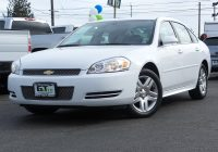 Used Cars Under 1000 Fresh Used 2016 Chevrolet Impala Limited for Sale Ta A Wa