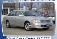 Used Cars Under 2000 Luxury Used Cars Under $10 000 2000 toyota Avalon Xl Silver $7 900