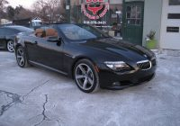 Used Convertible Cars for Sale Luxury 2009 Bmw 6 Series 650i Convertible Black On Brown Sport Package