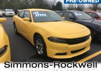 Used Dodge Charger for Sale Elegant Used 2018 Dodge Charger for Sale at Simmons Rockwell ford Inc