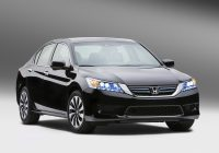 Used Honda Cars Fresh 2014 Honda Accord Hybrid Arrives Boasting 47 Mpg