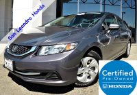 Used Hondas for Sale Near Me Fresh Used Cars In San Leandro Oakland Alameda Hayward Bay area Castro