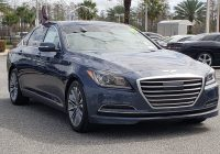 Used Hyundai Genesis for Sale Fresh Pre Owned 2015 Hyundai Genesis 3 8l 4dr Car In orlando A