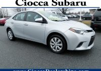 Used toyota Corolla for Sale Awesome Used 2016 toyota Corolla Sedan for Sale In Allentown Pa