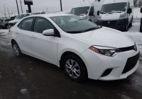 Used toyota Corolla for Sale Inspirational 2016 toyota Corolla Ce for Sale In Ottawa On