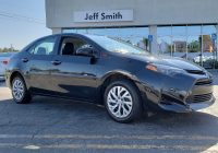 Used toyota Corolla for Sale Inspirational Used 2018 toyota Corolla for Sale at Jeff Smith Volkswagen Of