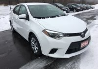 Used toyota Corolla for Sale Inspirational Used toyota Corolla for Sale In Welland On