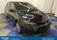 Used toyota Corolla for Sale Lovely Used 2017 toyota Corolla Le Cvt for Sale In Duluth Ga