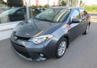 Used toyota Corolla for Sale Luxury Used toyota Corolla Le toit Mags for Sale Ste Thérèse toyota In