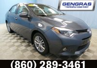 Used toyota Corolla for Sale New Used 2015 toyota Corolla for Sale Hartford Ct