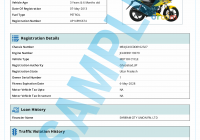 Vehicle Service History Report New Check Free Vehicle S History Registration Details Online