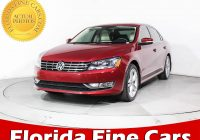 Volkswagen Cars for Sale Near Me Lovely Used 2015 Volkswagen Passat Tdi Se Sedan for Sale In Miami Fl