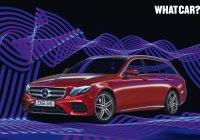 What Car Used Awesome Mercedes E Class Estate Named What Car Used Car Of the Year