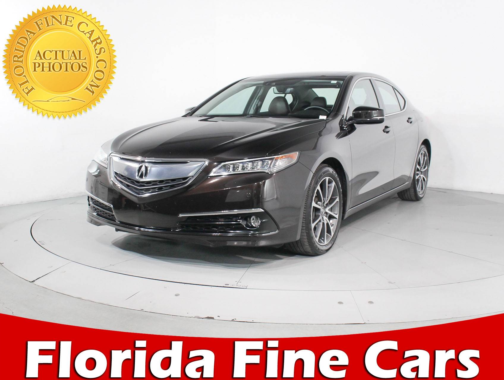 used 2015 acura tlx sh awd advance pkg sedan for sale in hollywood fl