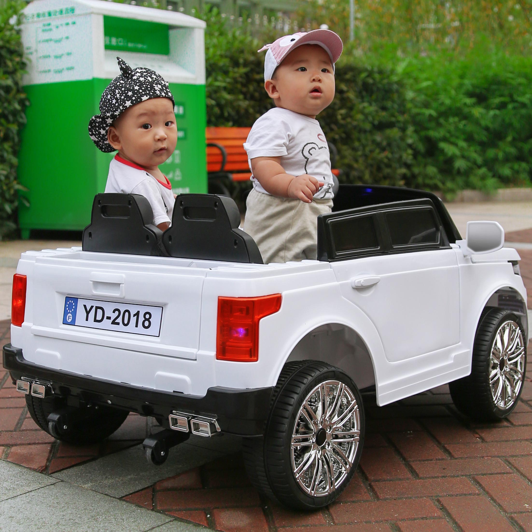 two seat large off road swing four wheel dual drive remote control