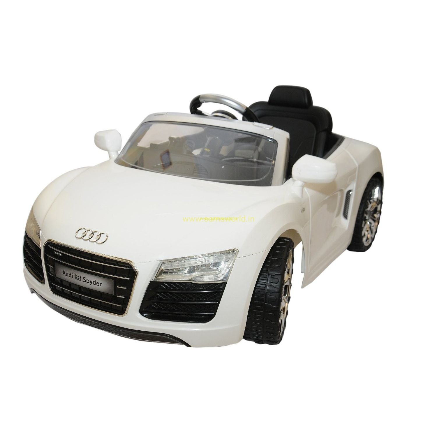 audi r8 spyder type model battery operated ride on car with remote control for kids
