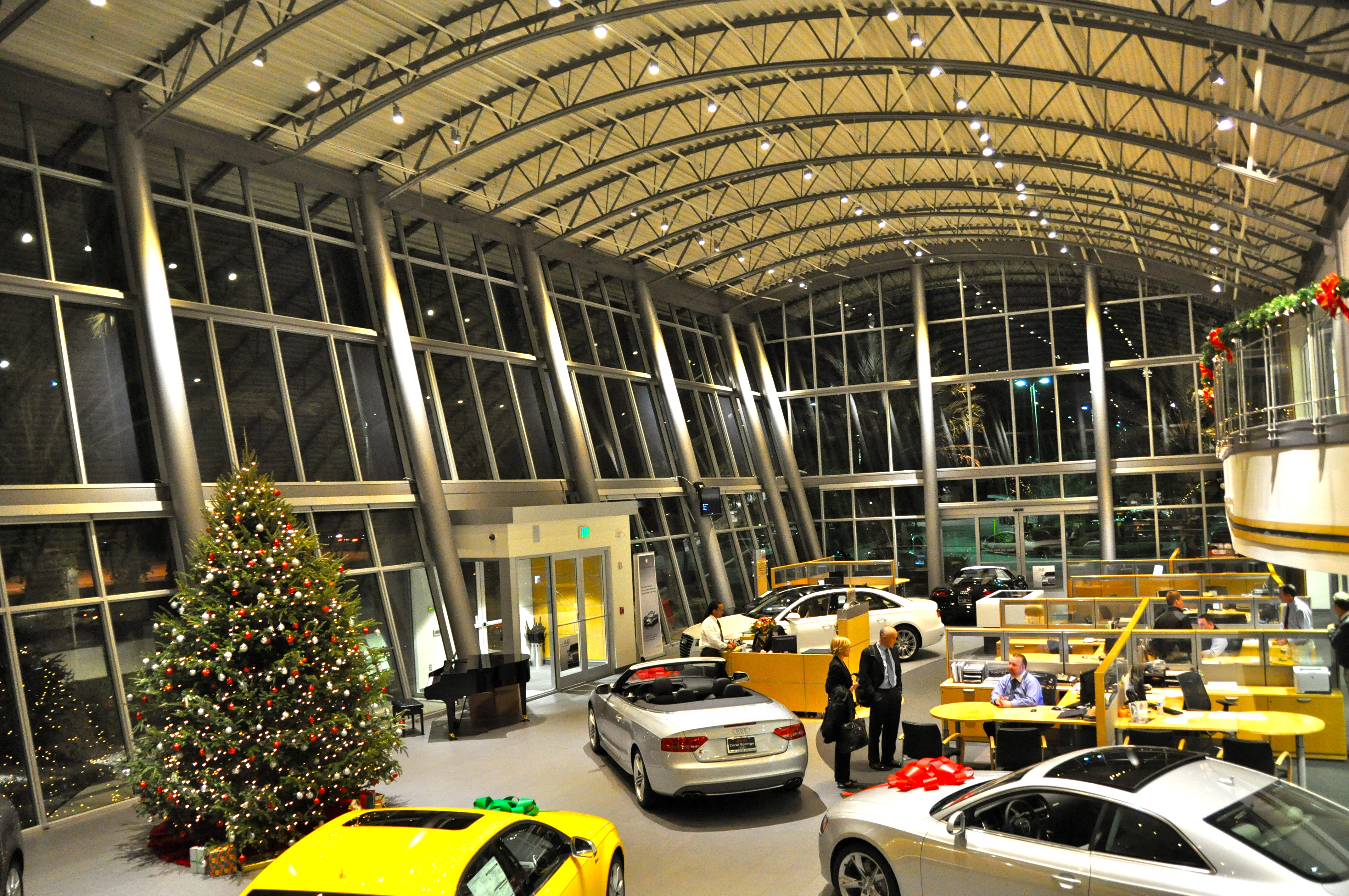 led source helps car dealership save money energy with lighting makeover