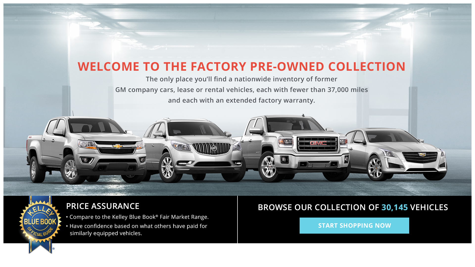 gm factory pre owned collection website takes used car salespeople mostly out of the equation