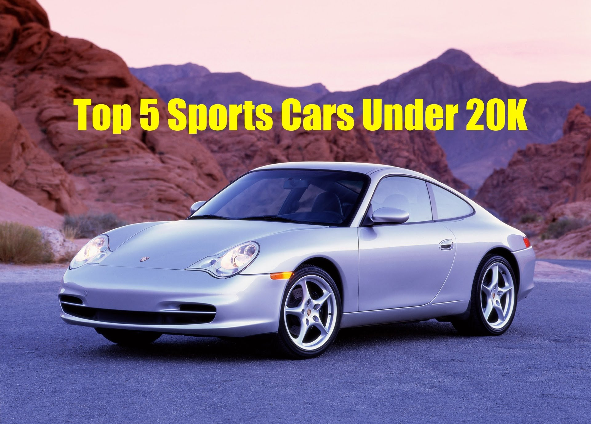 the top 5 best sports cars under 20k