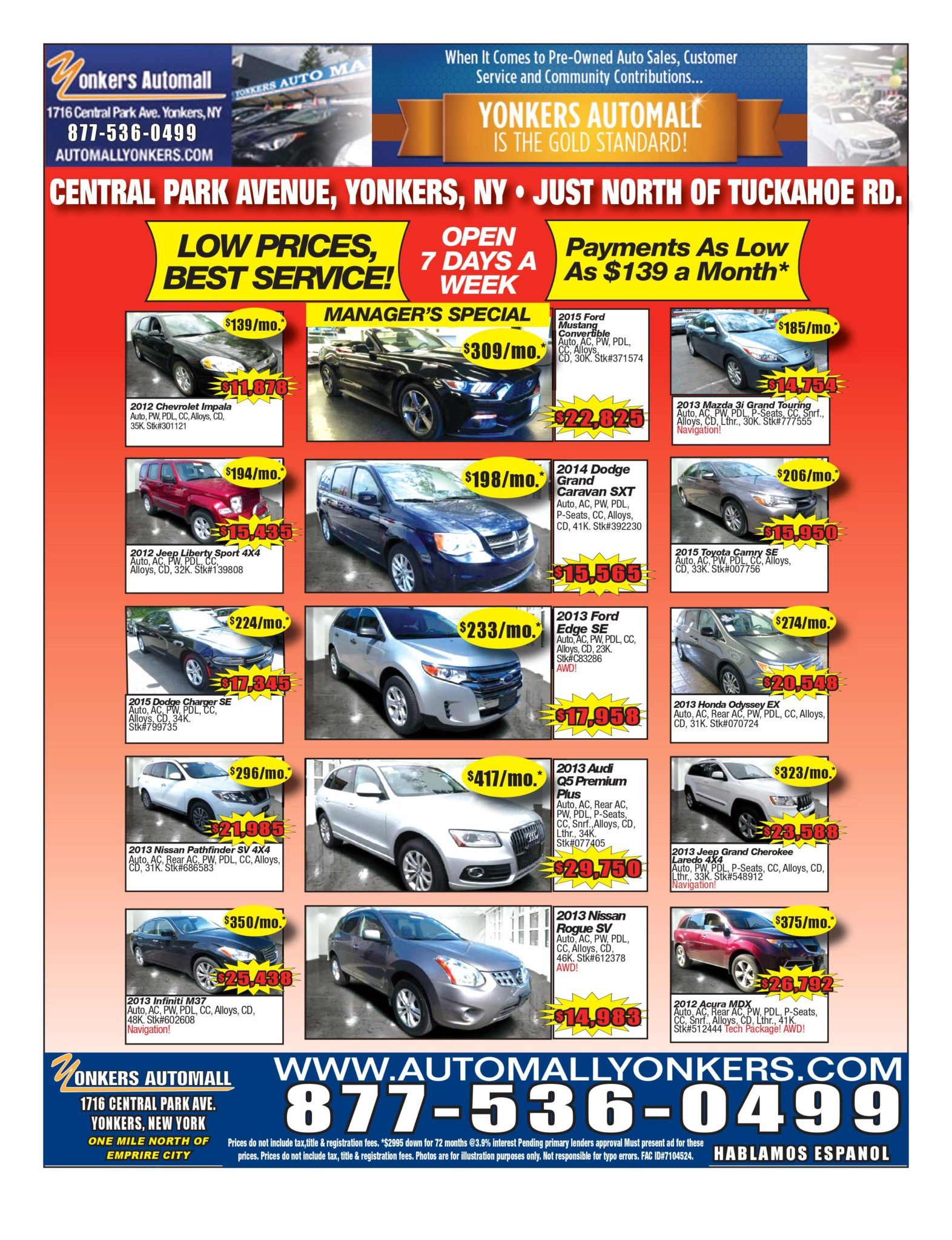bronx preowned cars