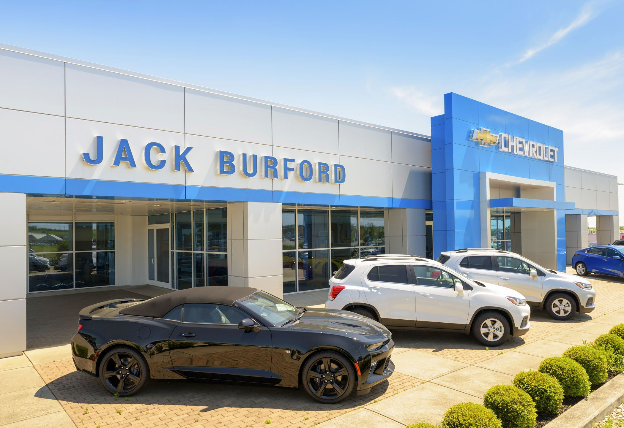 camaro or an incredibly strong silverado your new car waits at jack burford chevrolet we re proud to call ourselves one of the best car dealerships