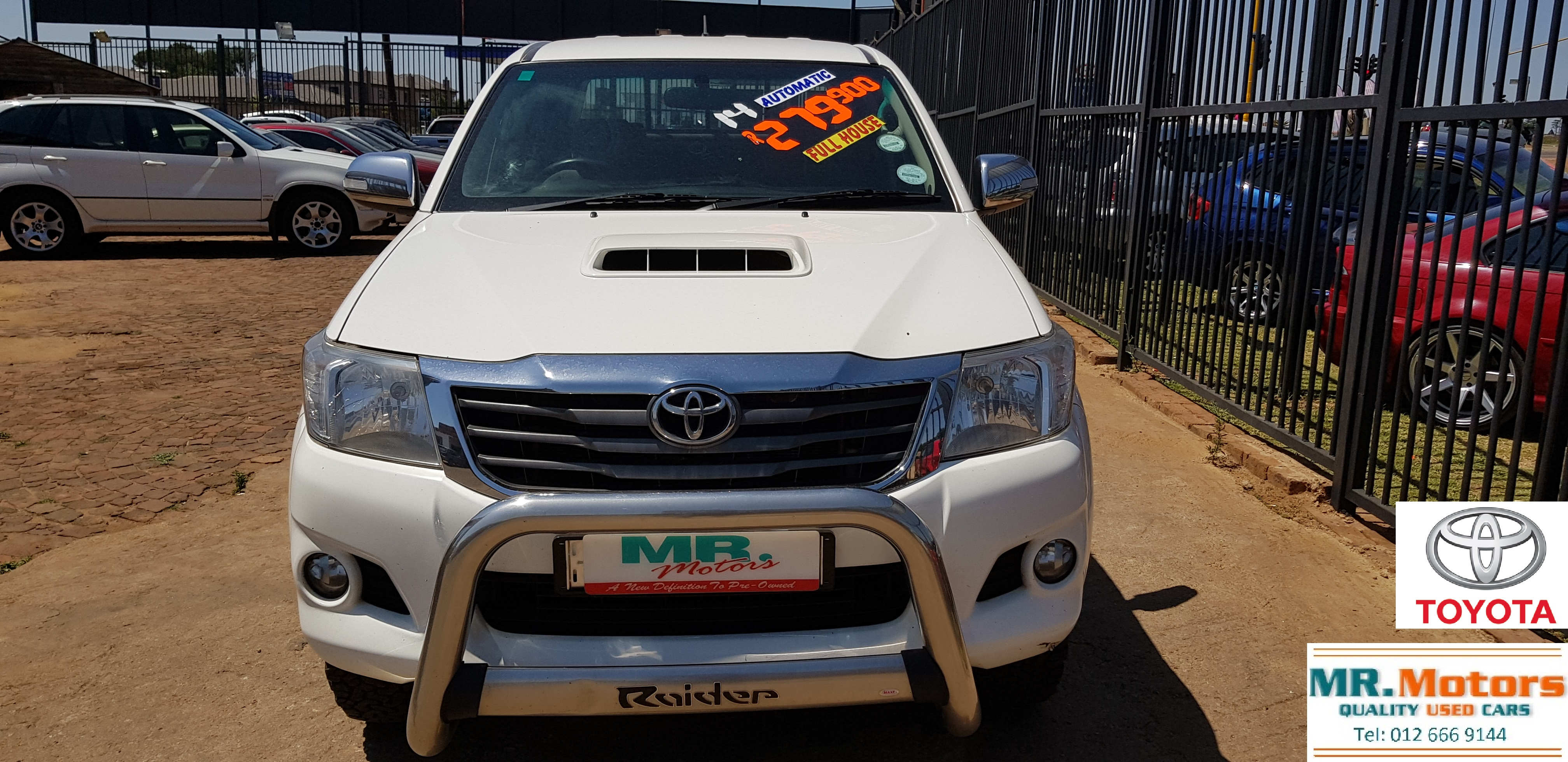 2014 toyota hilux 3 0 d4d automatic d c 1 owner fully loaded for sale in