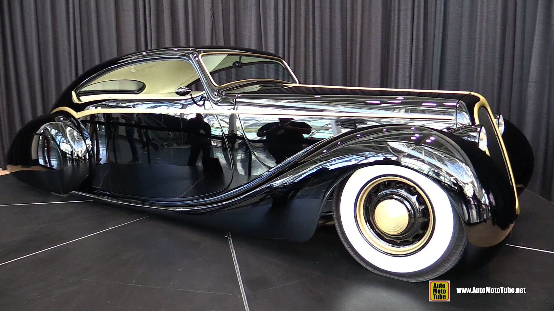 2014 the black pearl custom build car by rick dore kustoms turnaround 2014 la auto show youtube