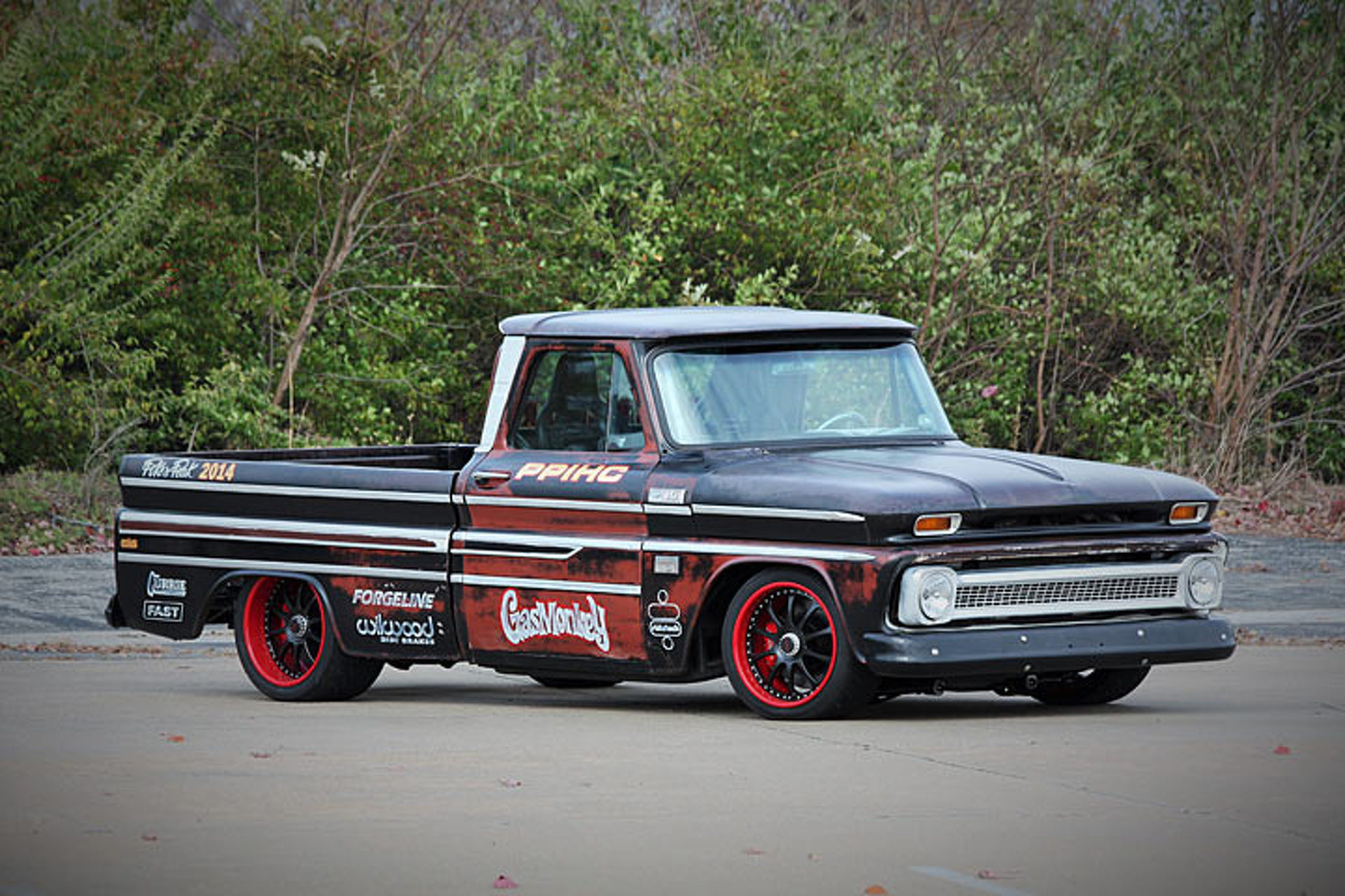 gas monkey garage pikes peak chevy roars onto ebay