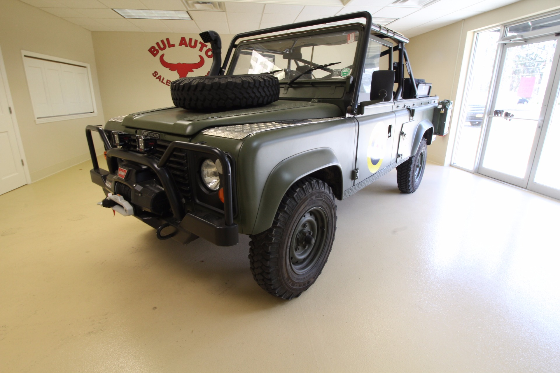 used 1986 land rover defender 110 military