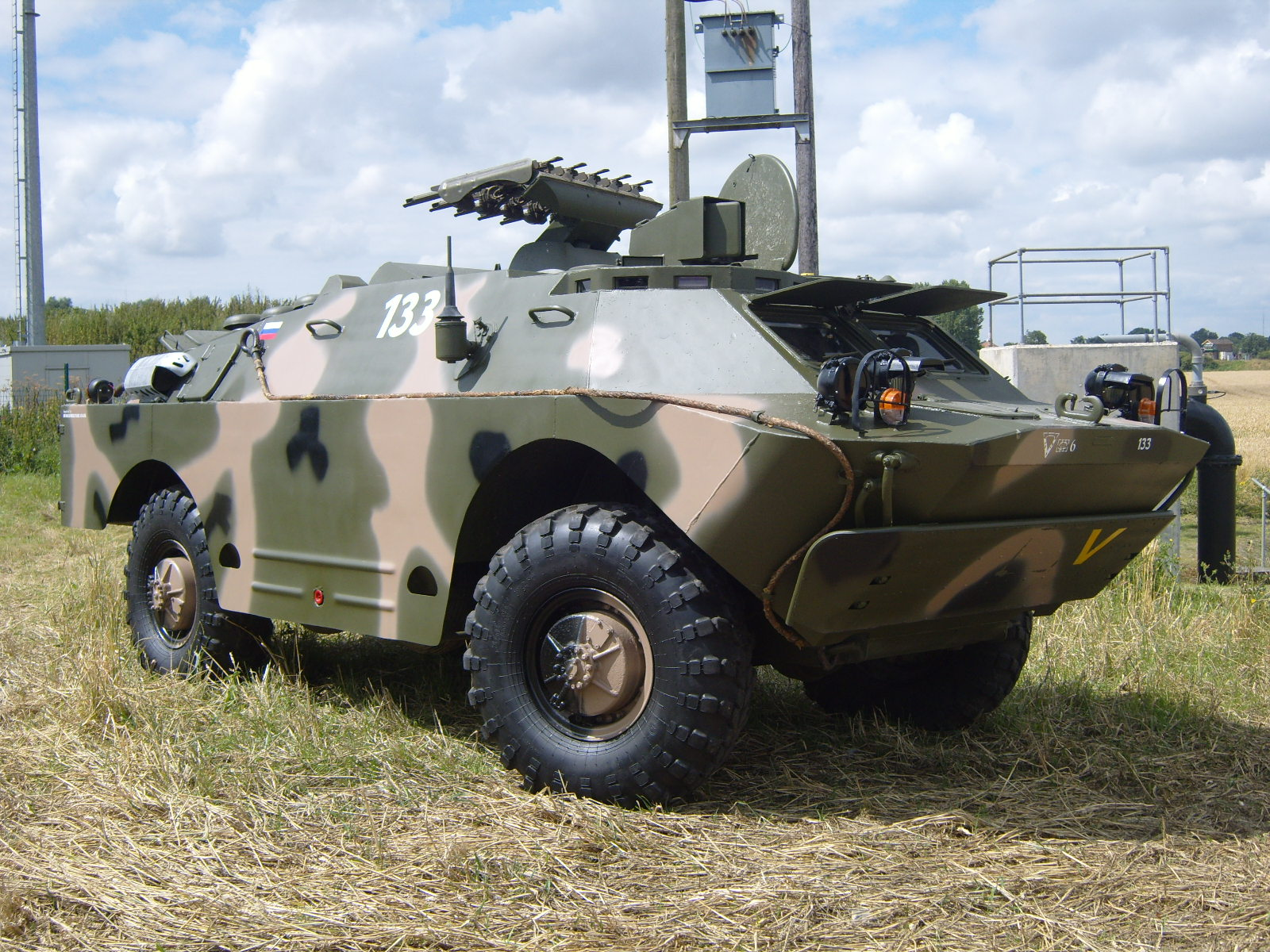 sub section image for brdm2 armoured personnel carrier vehicle sold