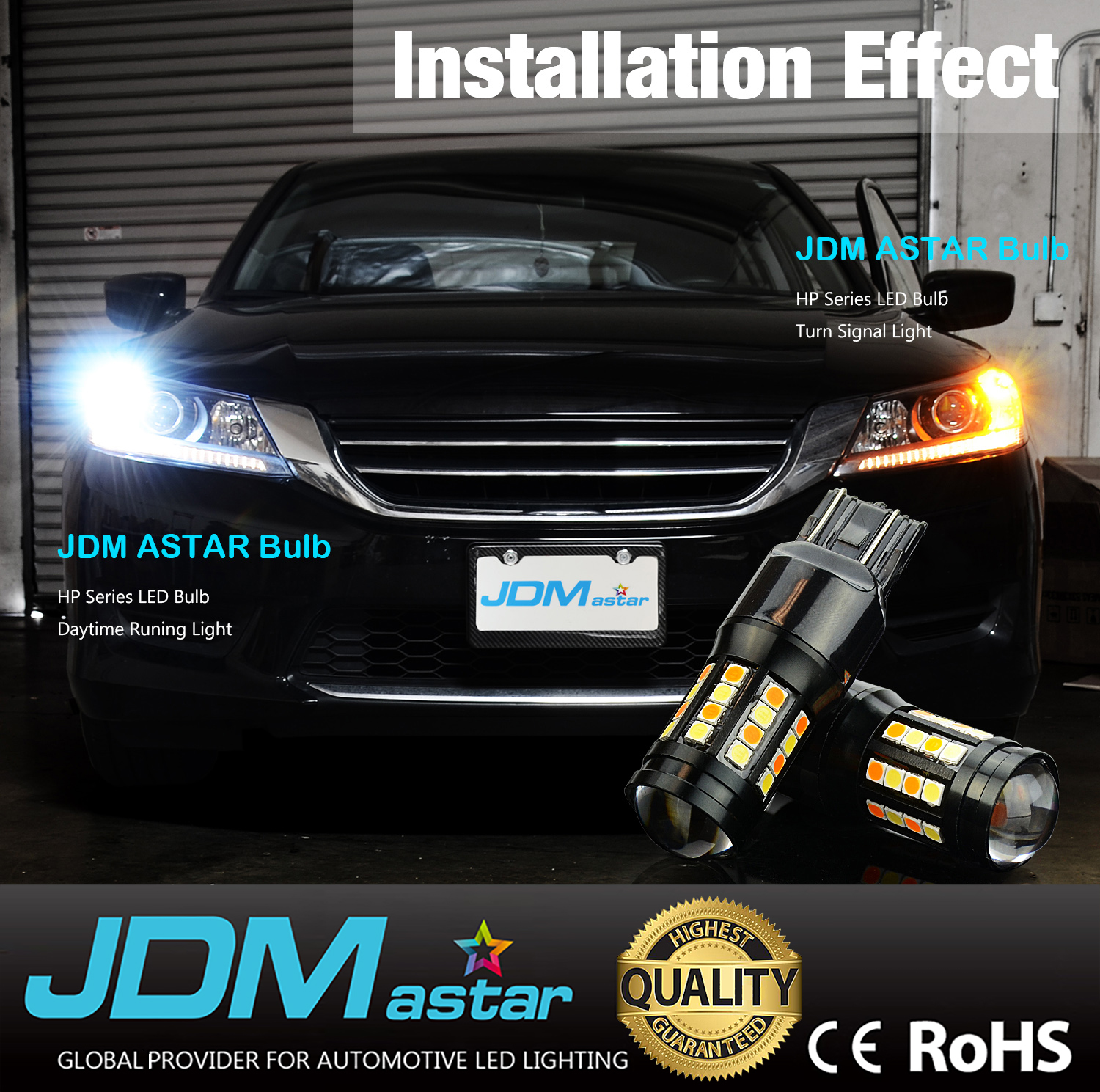 Cars for Sale by Smd Awesome Jdm astar 2x 1200lm 7443 7440 Dual Color 40 Smd White Amber