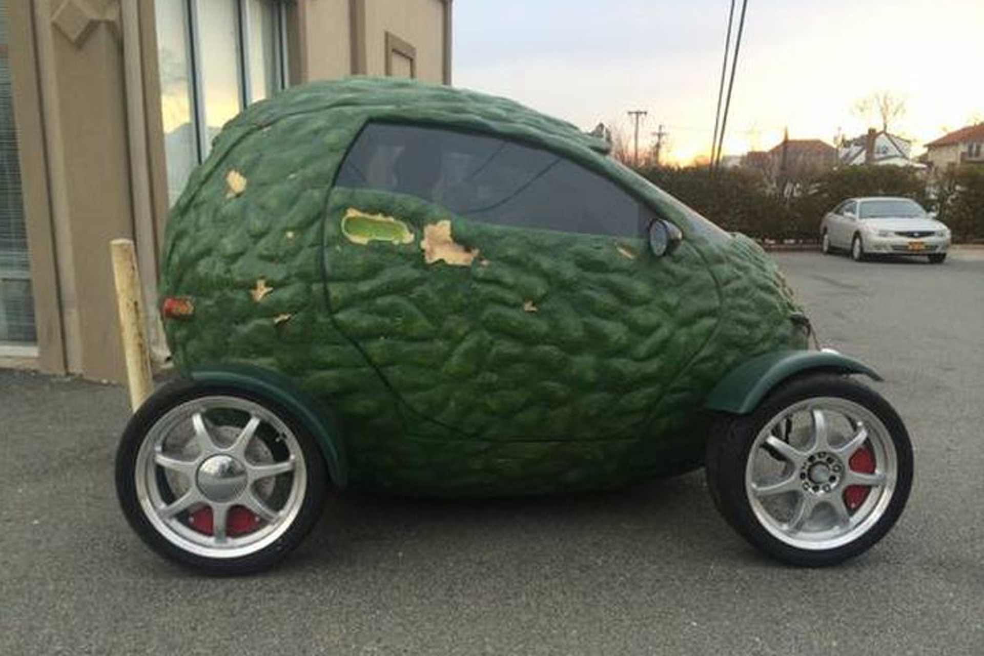 found on craigslist this amazing avocado car
