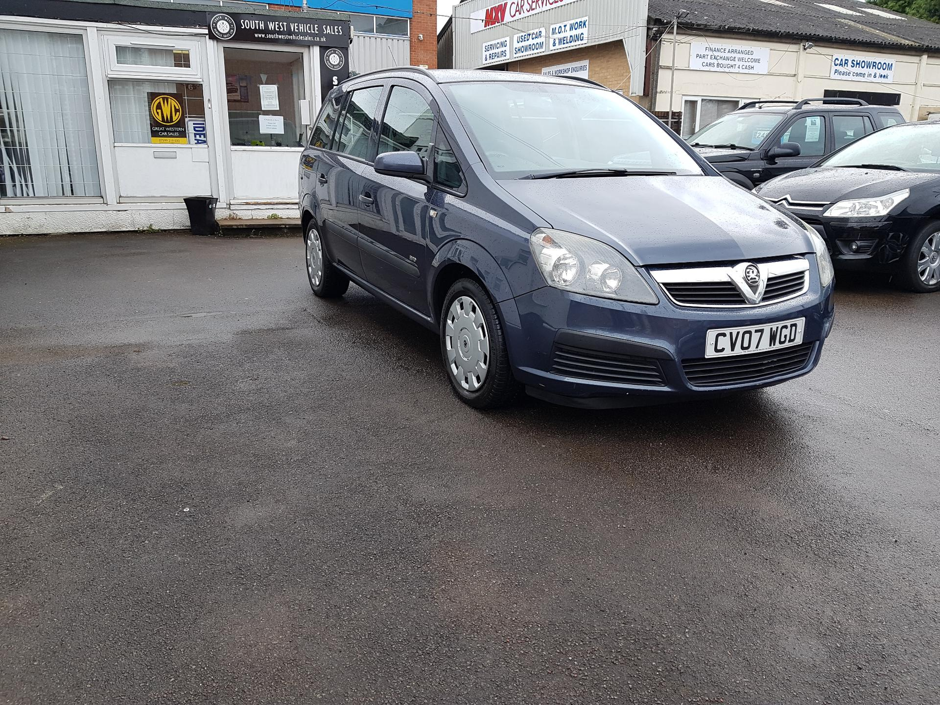 used vauxhall zafira cars for sale in cheltenham gloucestershire
