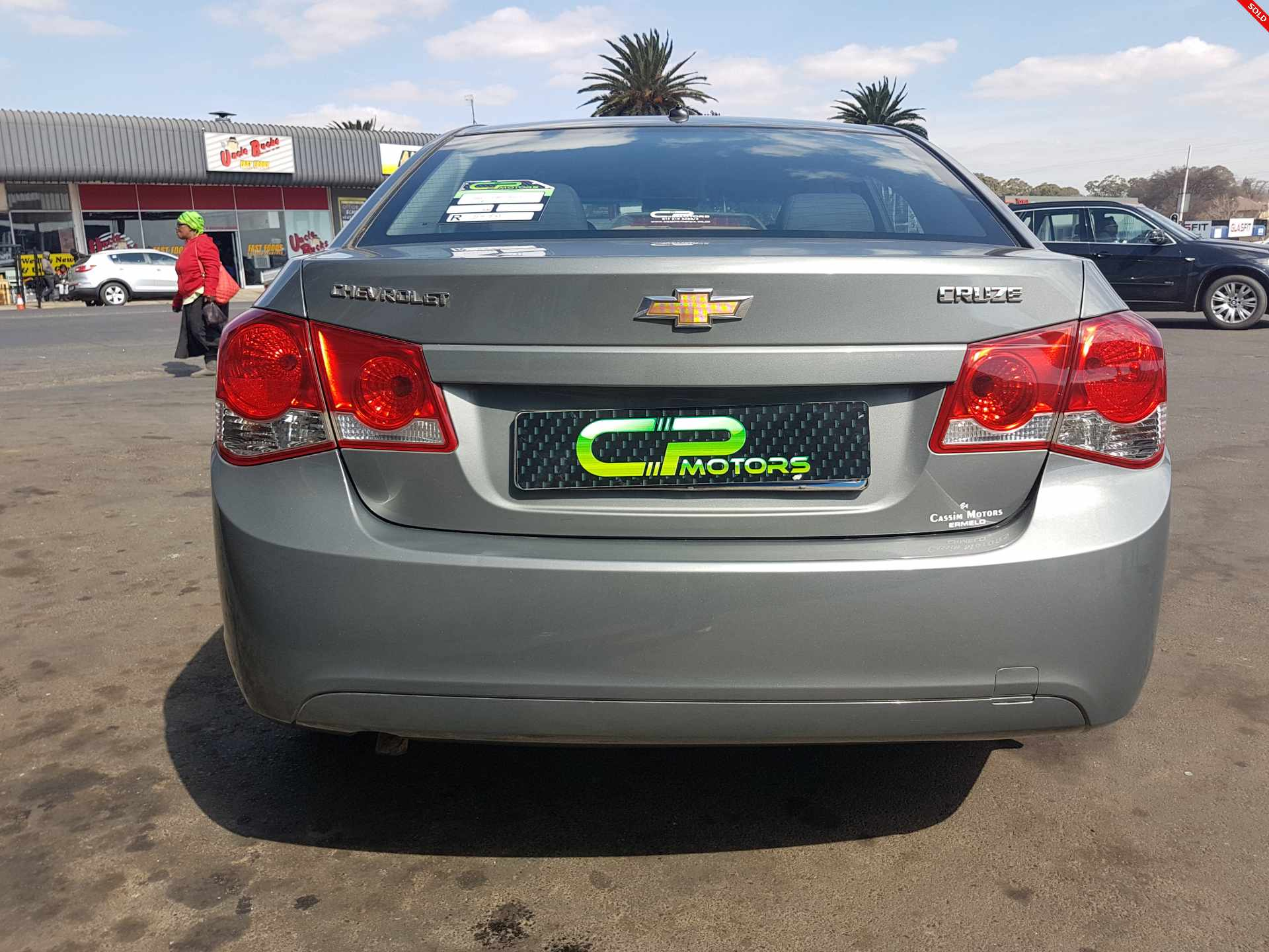 specifications of this chevrolet cruze