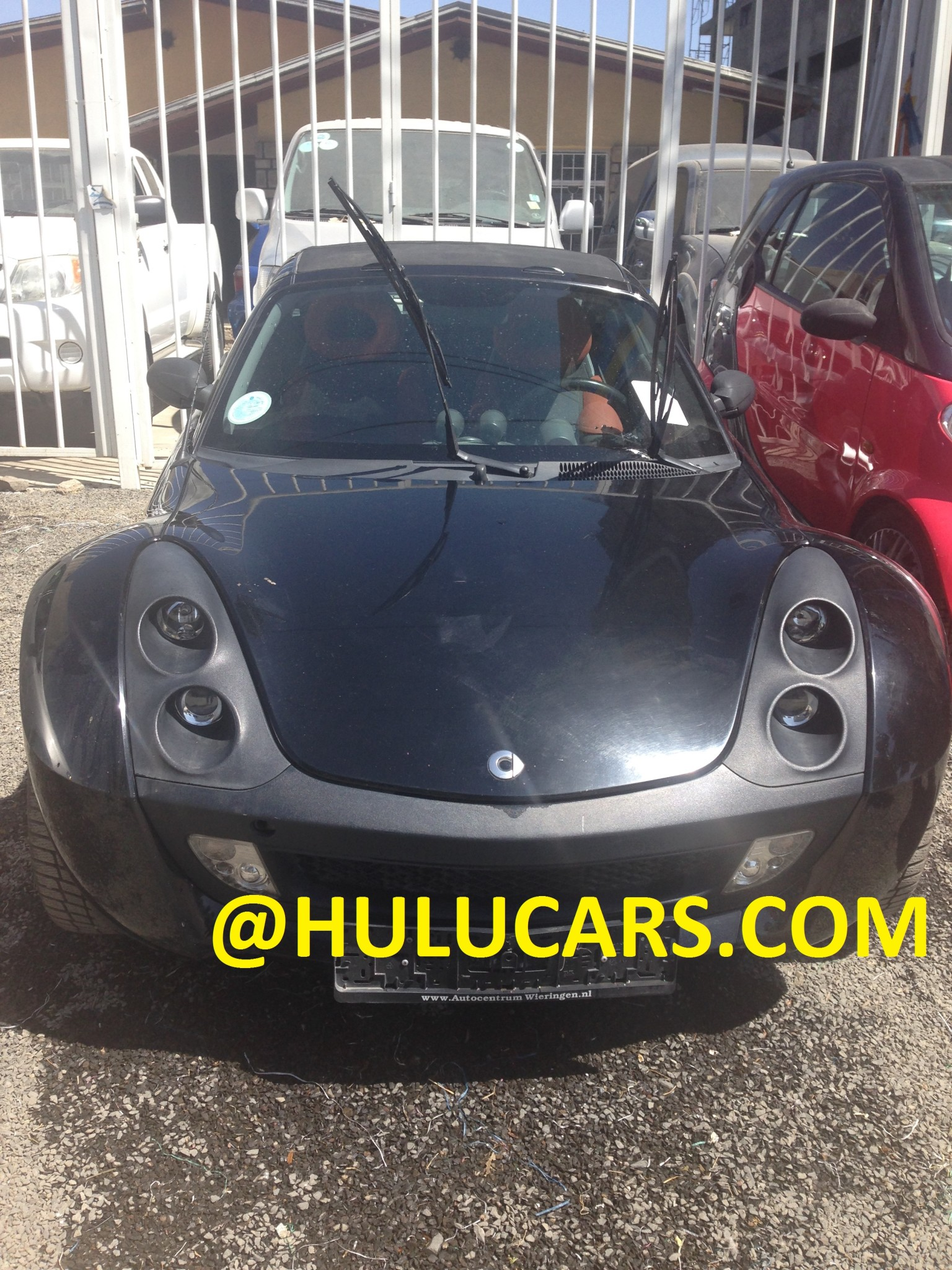 black smart front view for sale in hulucars