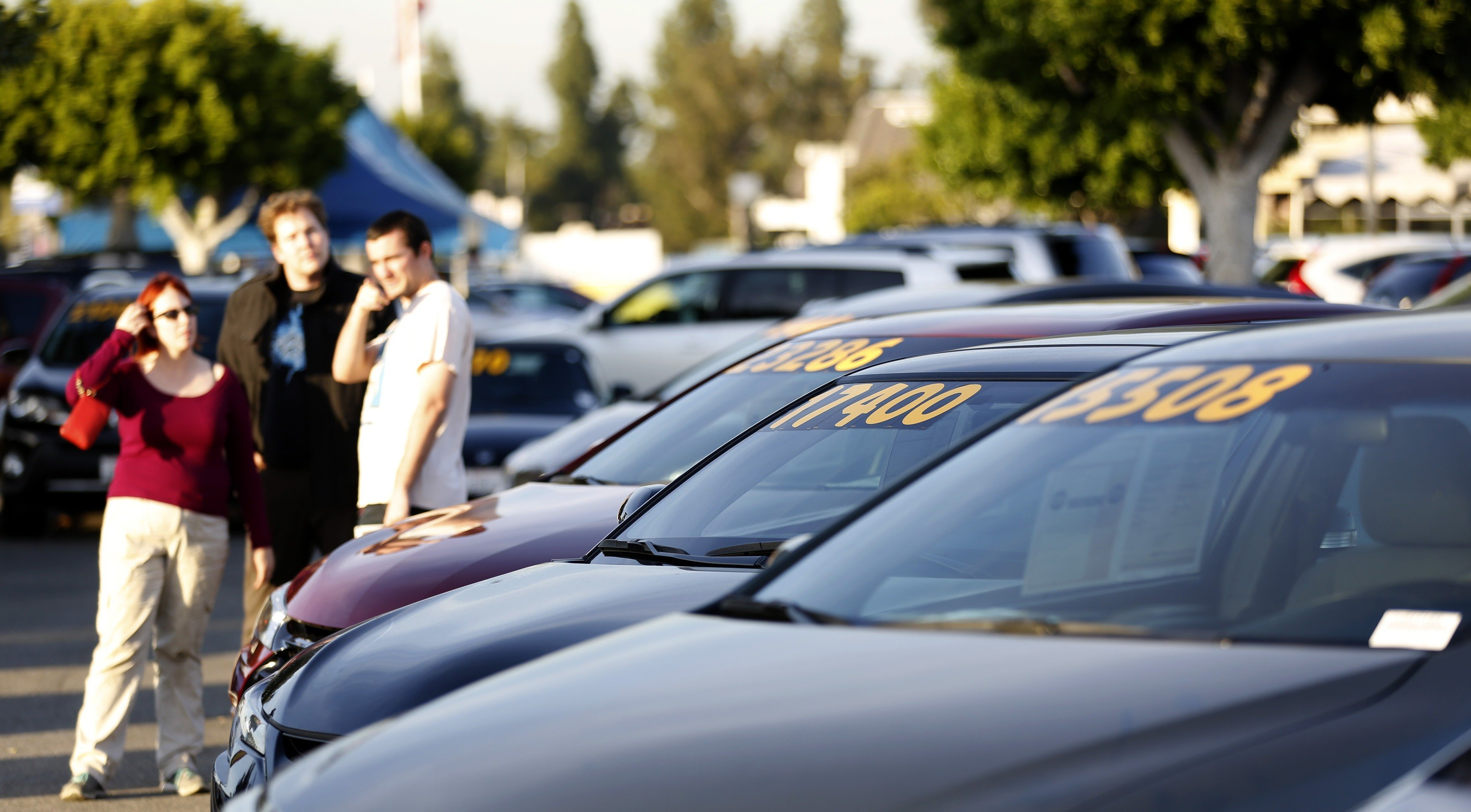 cars for sale at a california toyota dealership prices of used vehicles are sliding