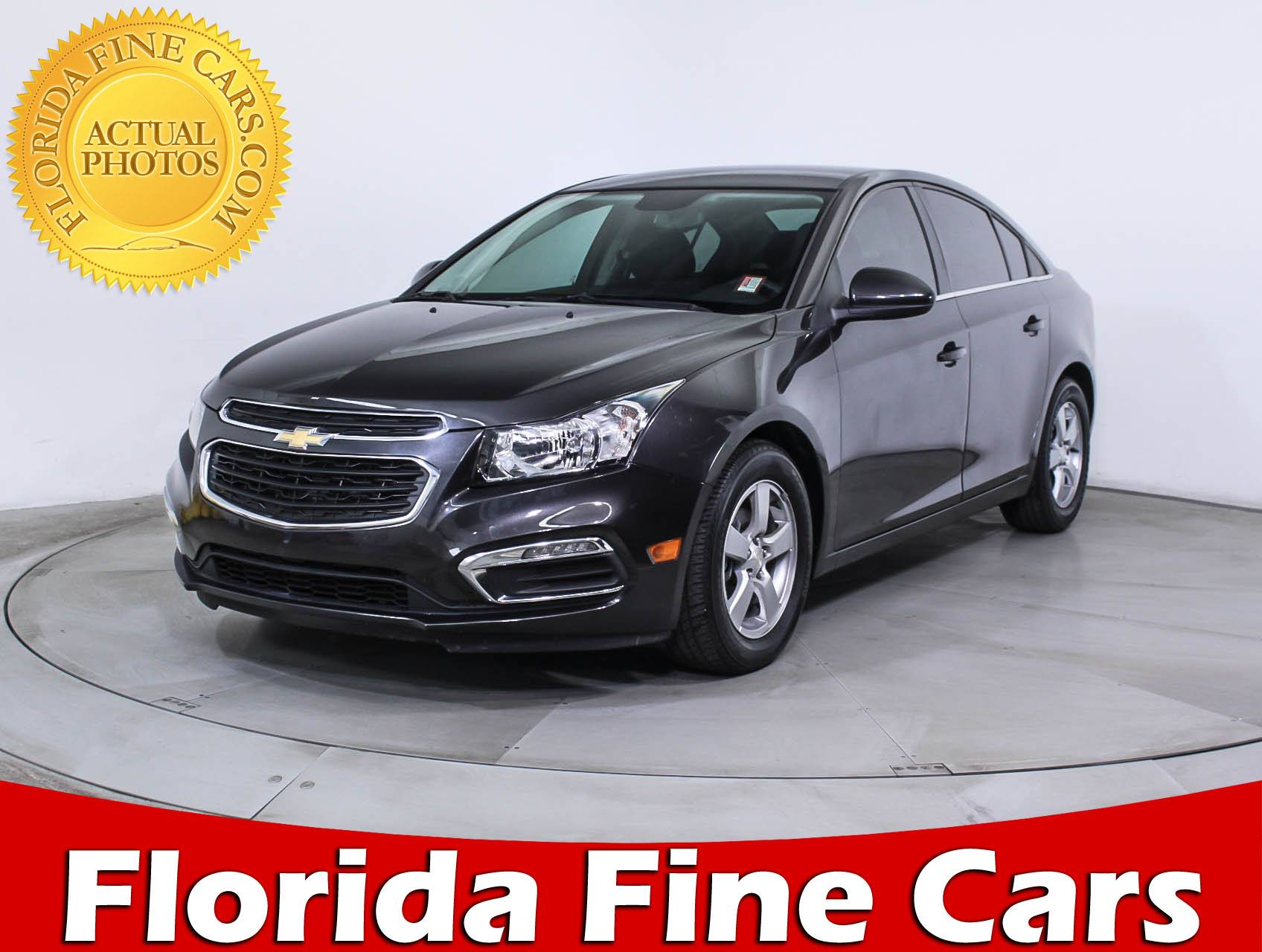 used 2015 chevrolet cruze 1lt sedan for sale in miami fl