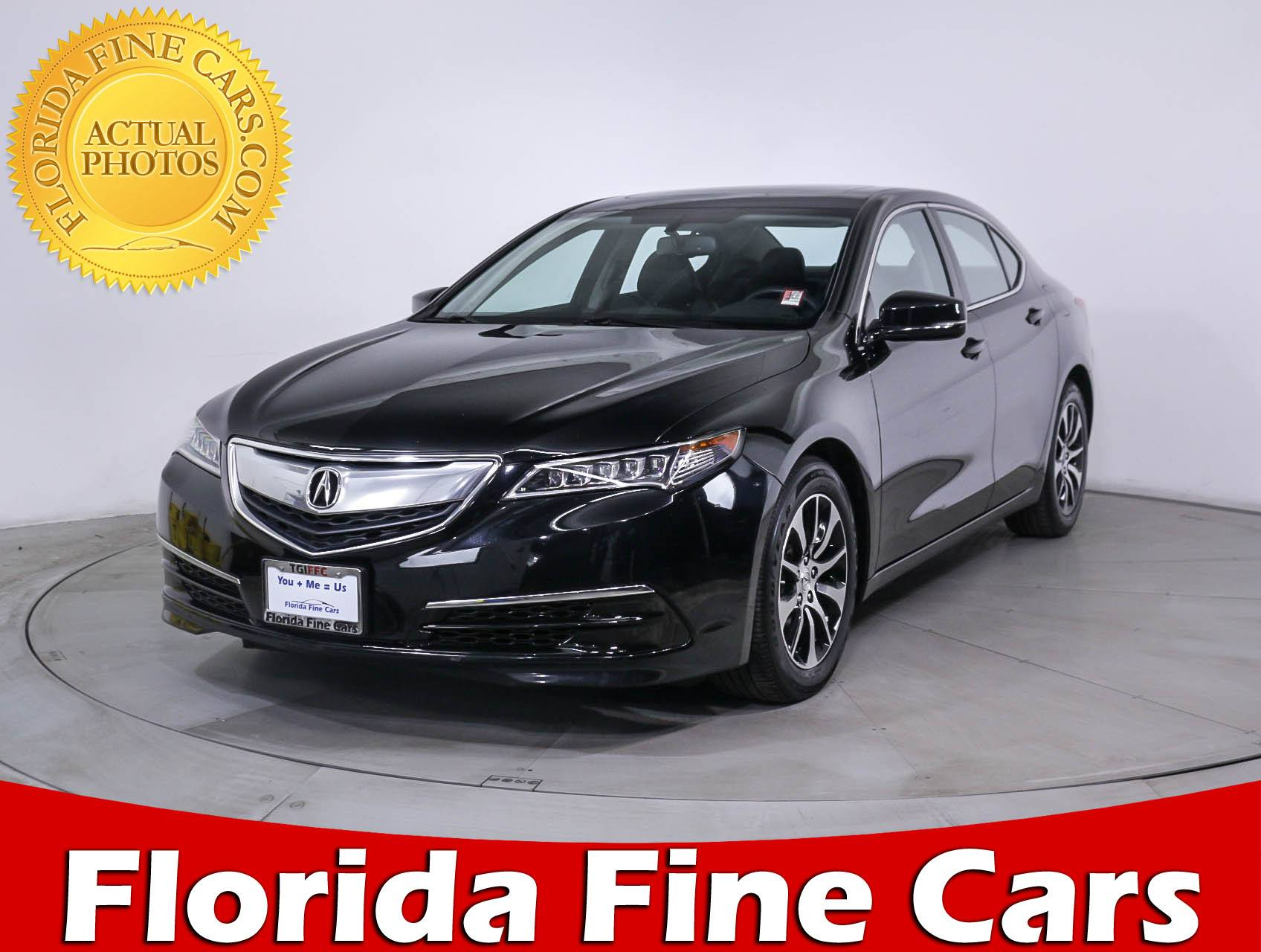 used 2015 acura tlx sedan for sale in miami fl