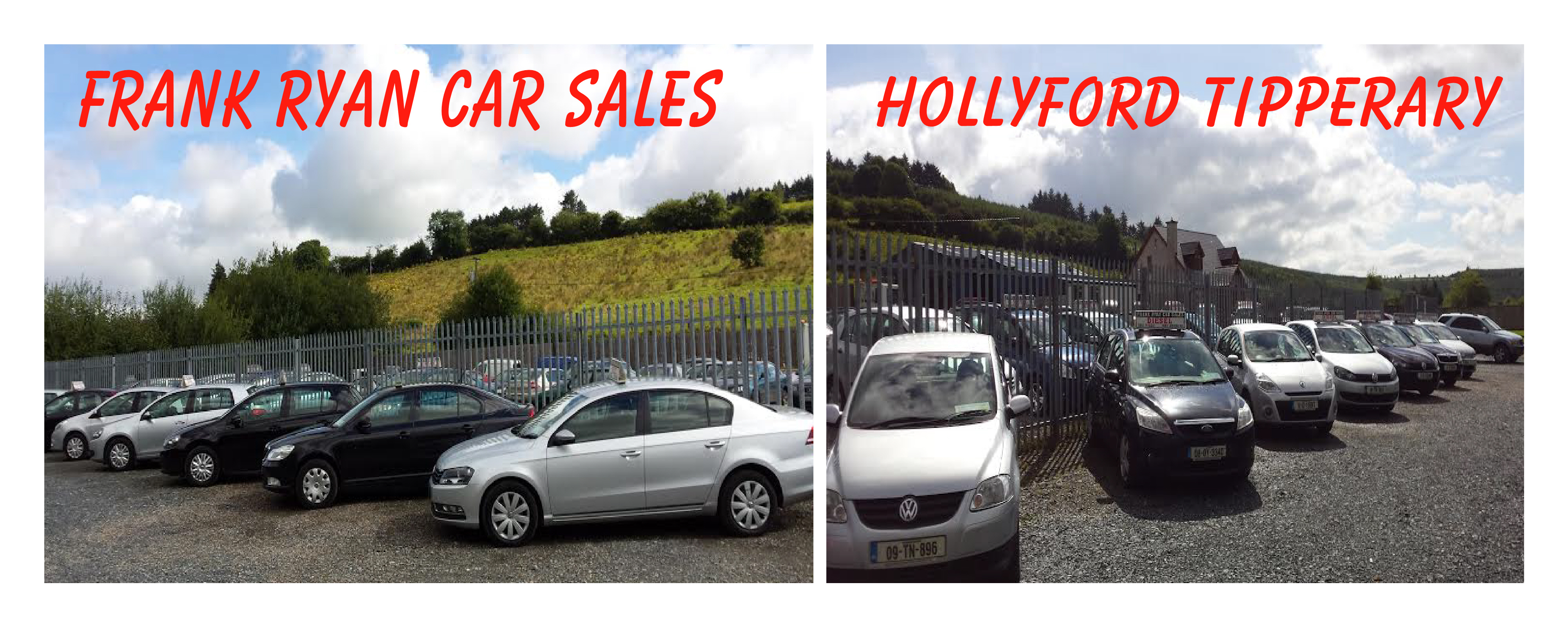 used cars the business is owned and operated by frank ryan who is available at all times to assist you with all aspects of your motoring requirements