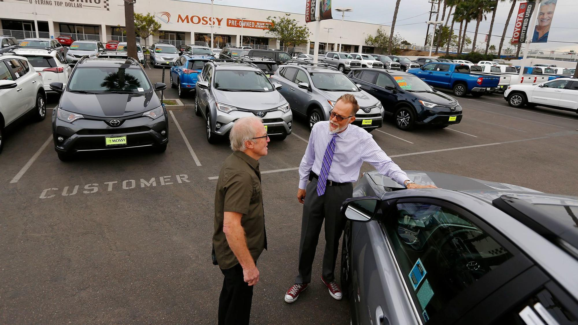 california vehicle sales exceed 2 million for third straight year the san go union tribune