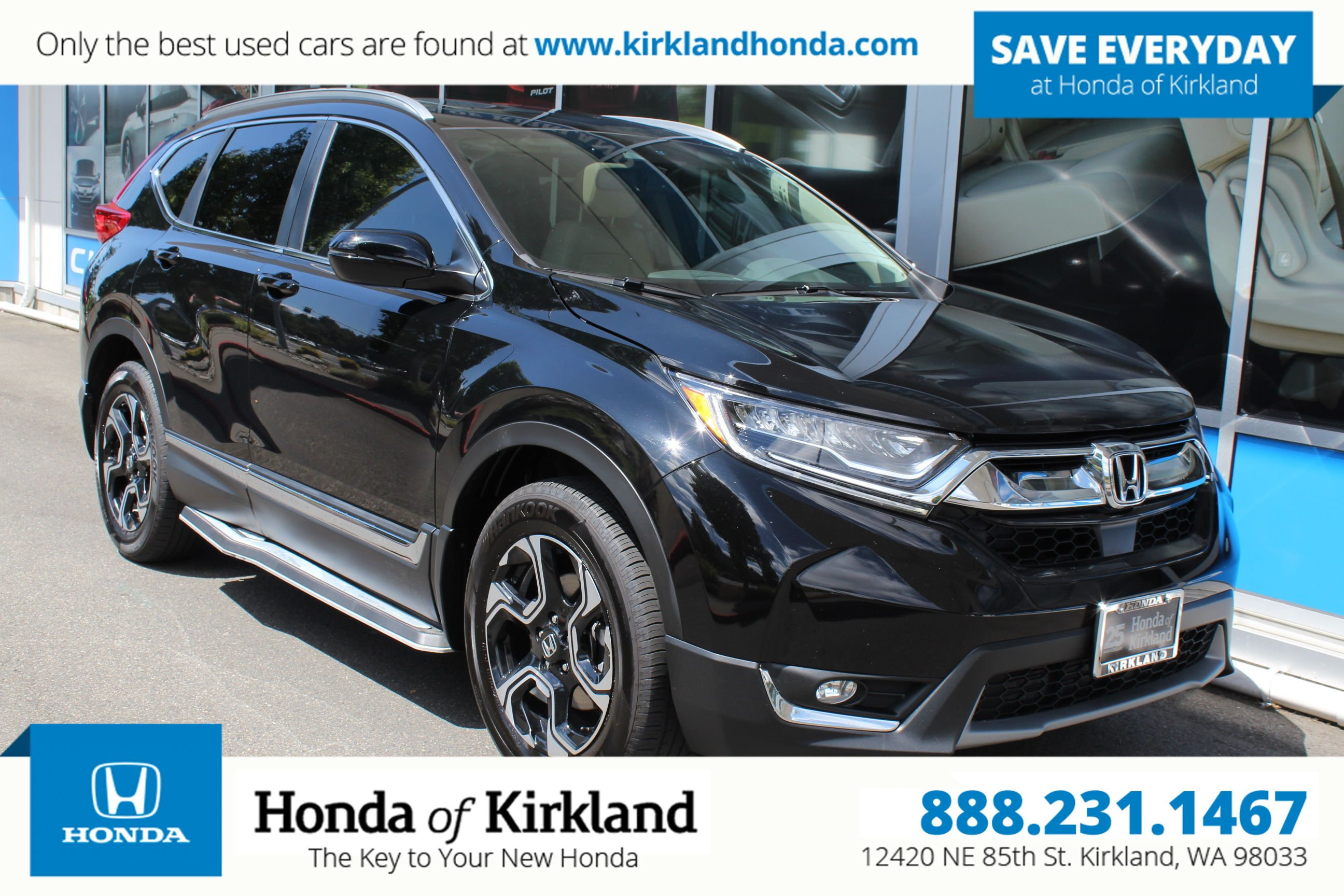 Honda Certified Used Cars Luxury Certified Pre Owned 2017 Honda Cr V touring Awd Sport Utility In