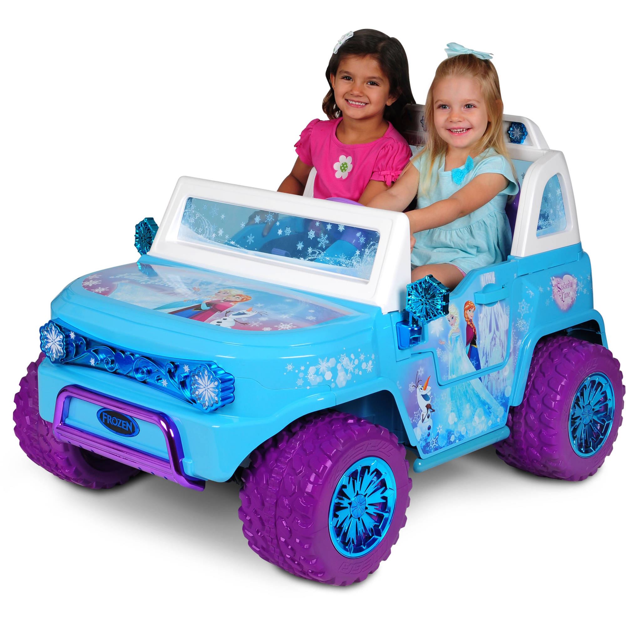 Jeep toddler Car Beautiful Disney Frozen Suv 12v Battery Operated Ride On Walmart