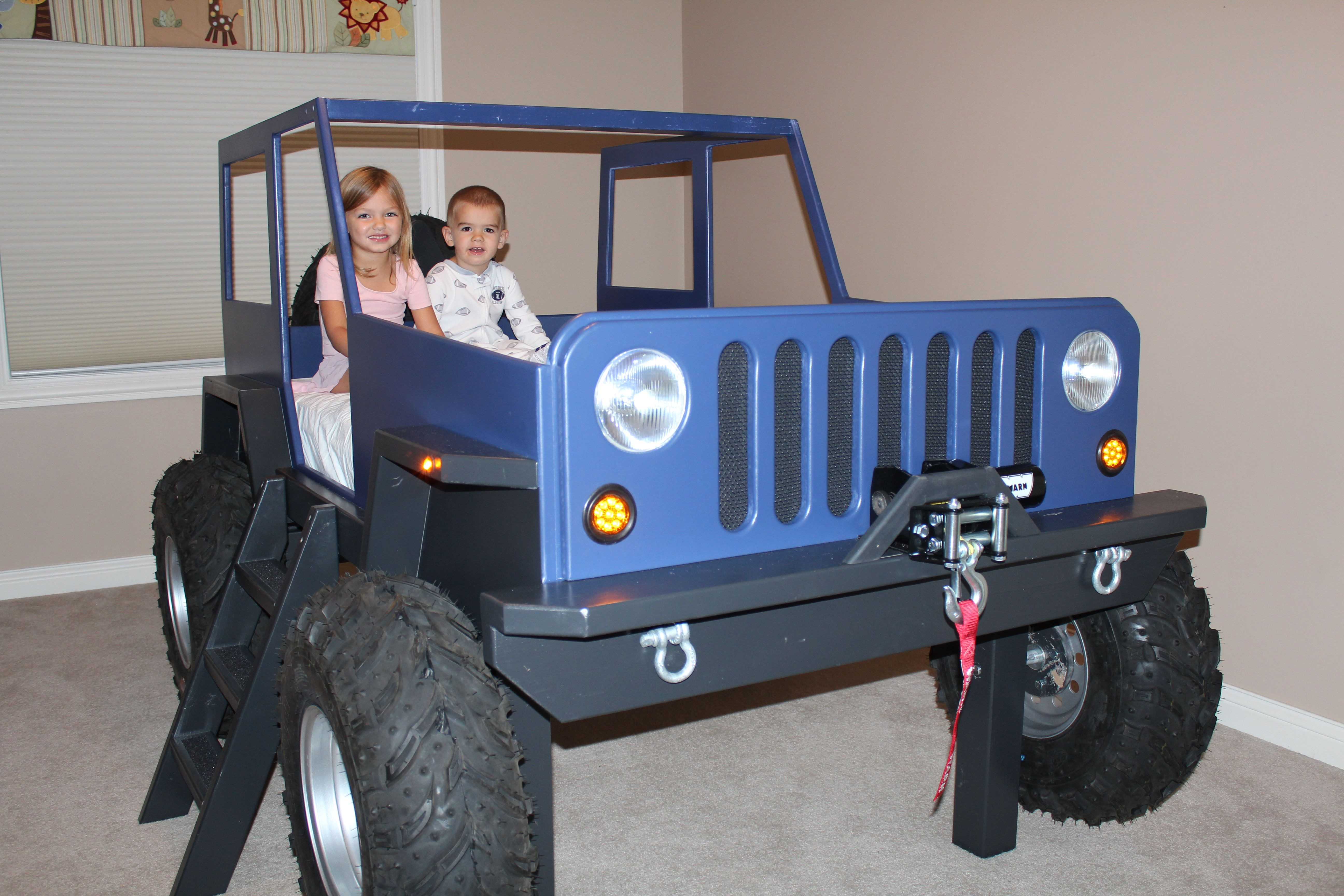 Jeep toddler Car Lovely Kids Jeep Bed ○ ○