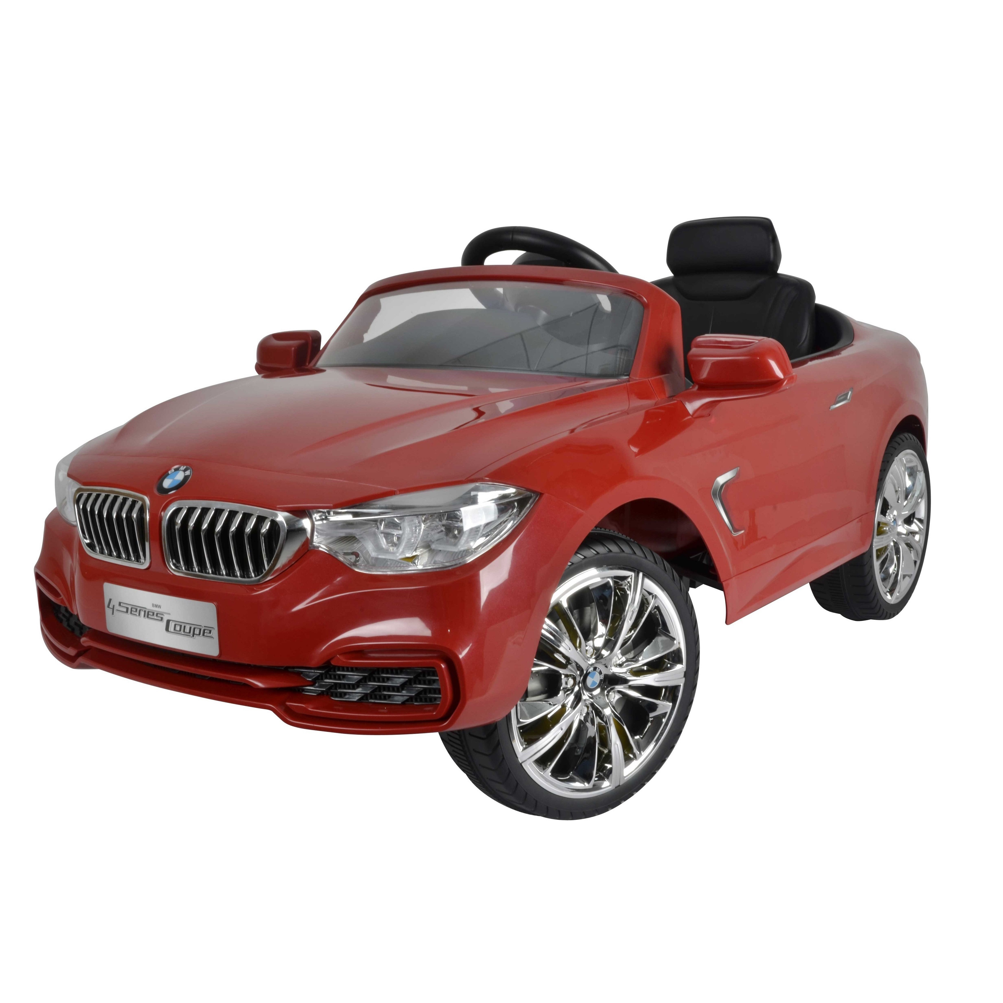 remote control red bmw ride on toy power battery rc realistic play car kids t new