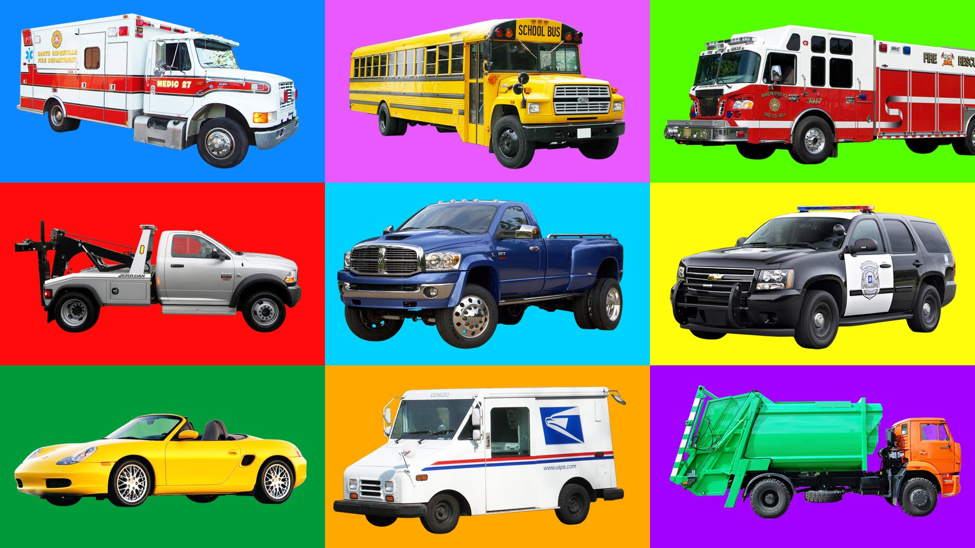 Kids Vehicles Inspirational Learning Street Vehicles Names and sounds for Kids Cars and Trucks